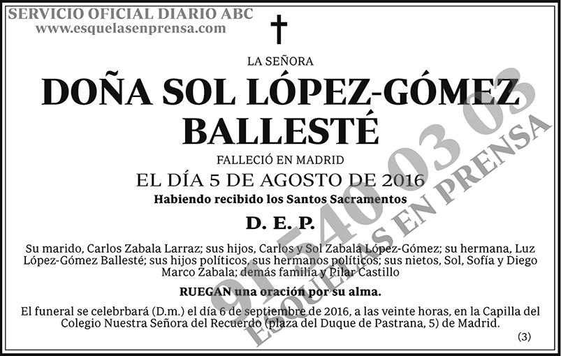 Sol López-Gómez Ballesté